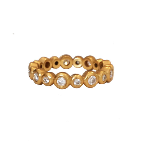 The Cheryl Bubble Ring - 22k or 18k
