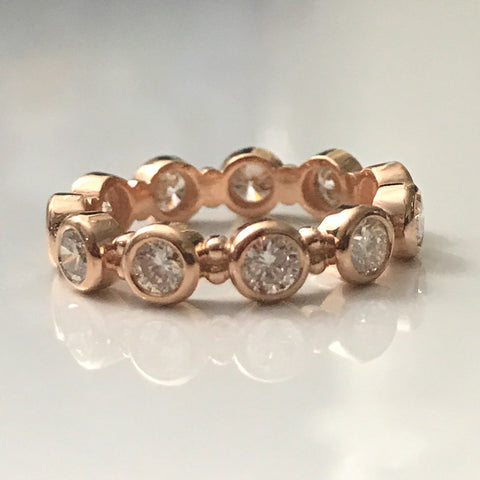 18k Rose Gold Lizzie Ring