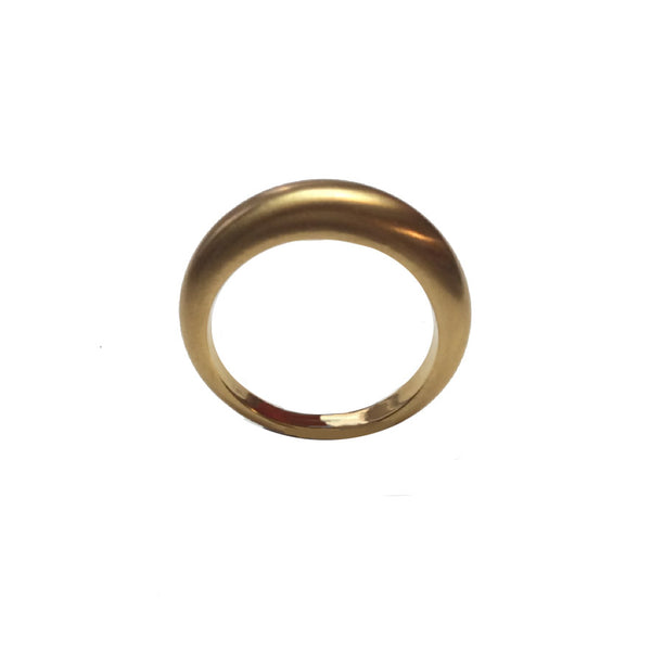 Tapered 22k or 18k  Gold Patti Band (Wedding Band or Stack Ring)