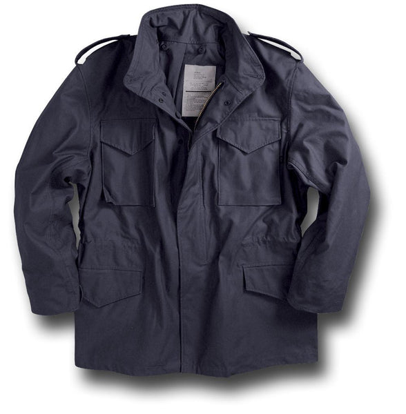 ALPHA M65 COMBAT JACKET - NAVY