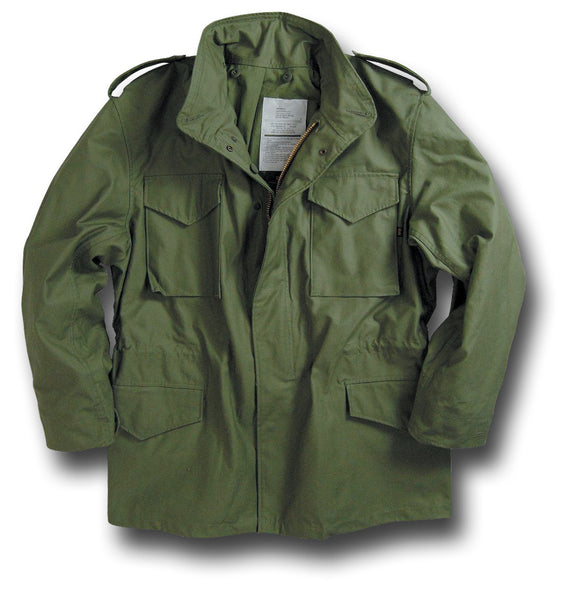 ALPHA M65 COMBAT JACKET - Silvermans  - 1