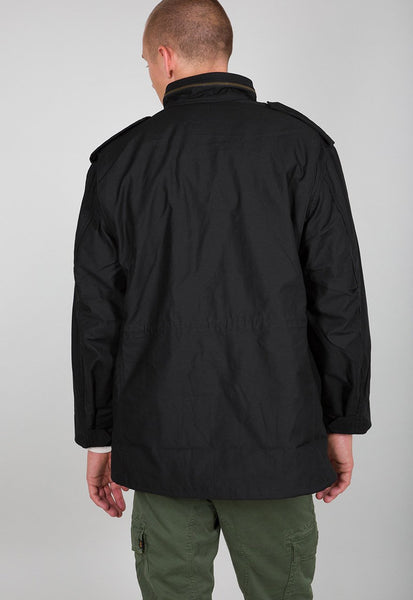 ALPHA M65 COMBAT JACKET - BLACK