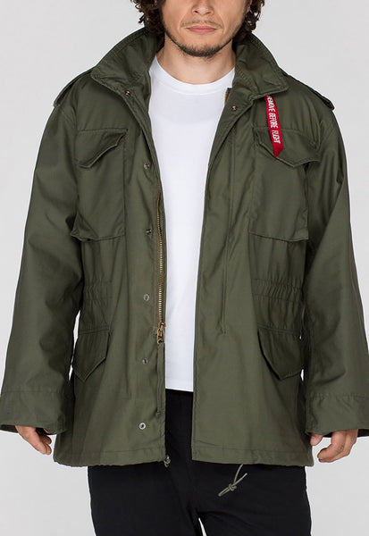 ALPHA M65 COMBAT JACKET - GREEN
