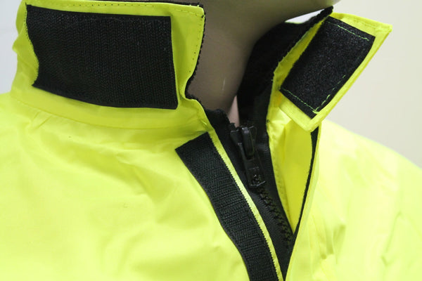 POLICE TRAFFIC HI VIS JACKET - COLLAR