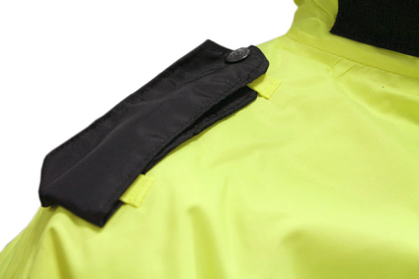 POLICE TRAFFIC HI VIS JACKET - EPAULETTE