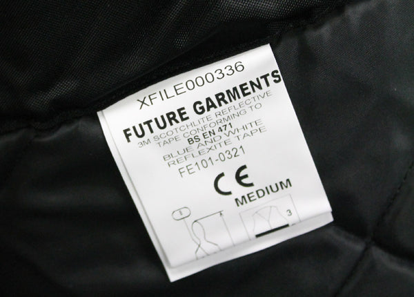 POLICE TRAFFIC HI VIS JACKET - LABEL