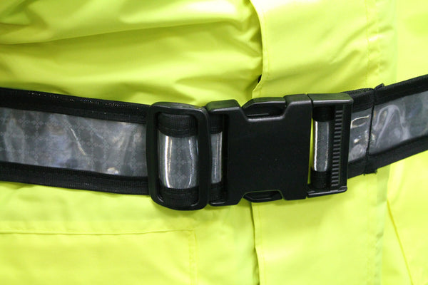 POLICE TRAFFIC HI VIS JACKET - BELT