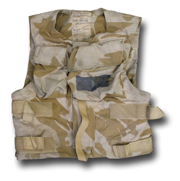 DESERT BODY ARMOUR COVER, USED