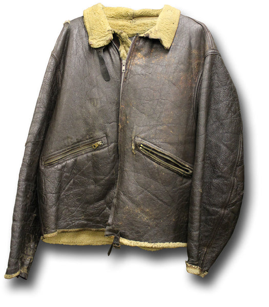 CIRCA '40 SHEEPSKIN FLYING JKT - Silvermans  - 1