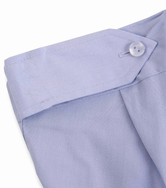 L/SLEEVE SECURITY SHIRT BLUE - EPAULETTE
