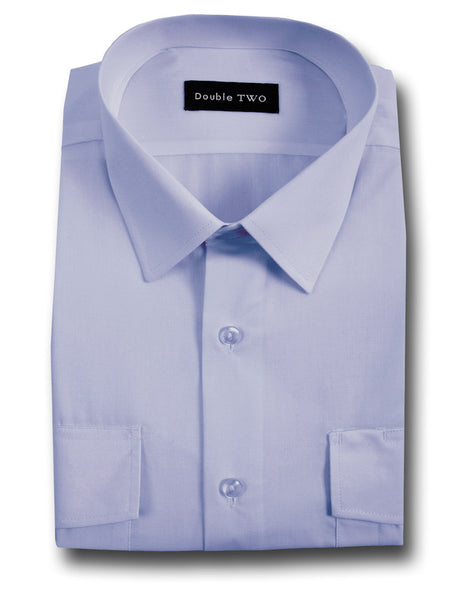 L/SLEEVE SECURITY SHIRT BLUE
