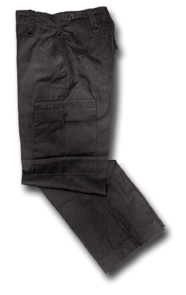 ARMY LIGHTWEIGHT TROUSERS - BLACK