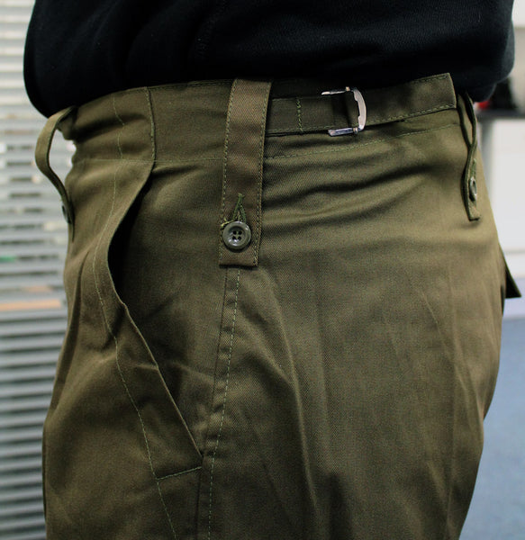 ARMY LIGHTWEIGHT TROUSERS - GREEN