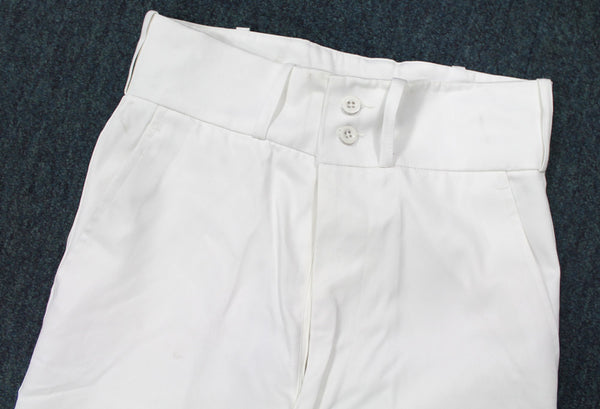 NEW WHITE BELLBOTTOM TROUSERS