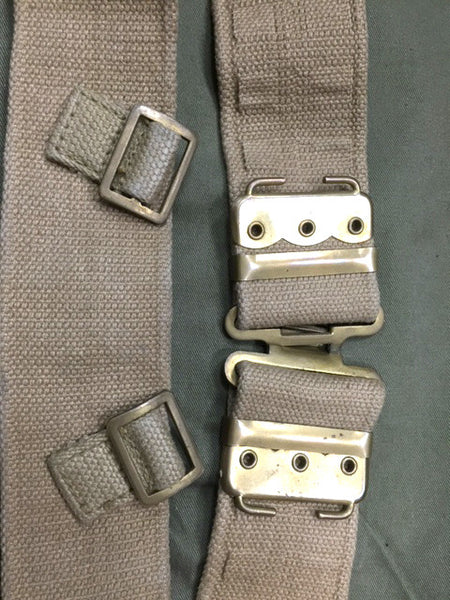 37 PATTERN WEBBING BELT BRASS