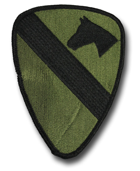 1ST CAVALRY USA CLOTH BADGE