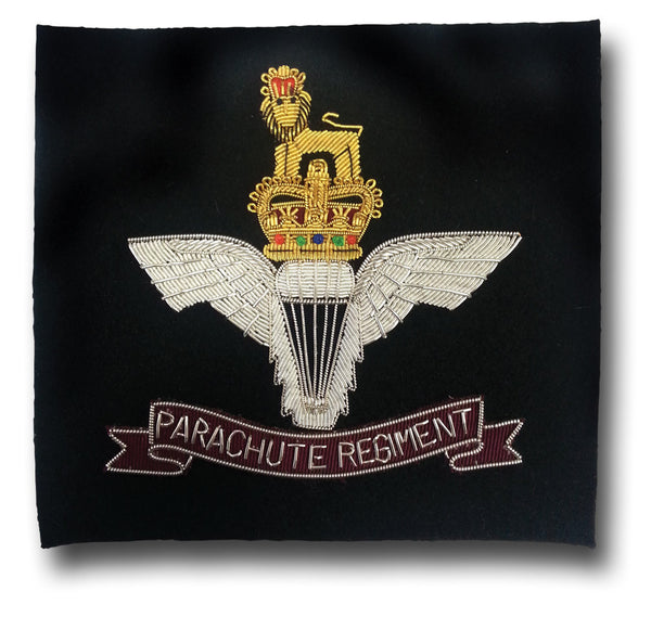 PARACHUTE REGIMENT BLAZER BADGE