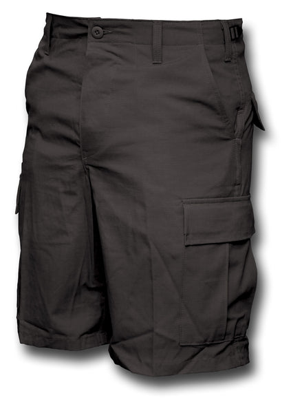 BDU USA SHORTS - BLACK