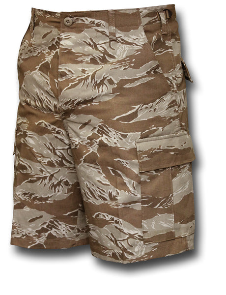BDU USA SHORTS - TIGER DESERT