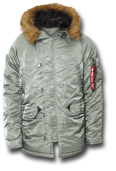 ALPHA N3B EXTREME COLD PARKA - SILVER