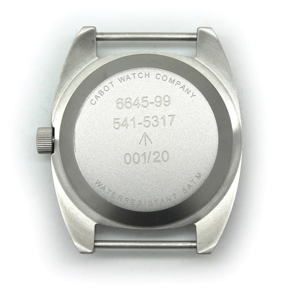 CWC T20 QUARTZ WATCH - BACK