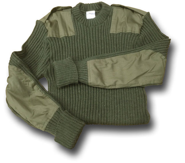 ARMY WOOLLY PULLY - Silvermans  - 2