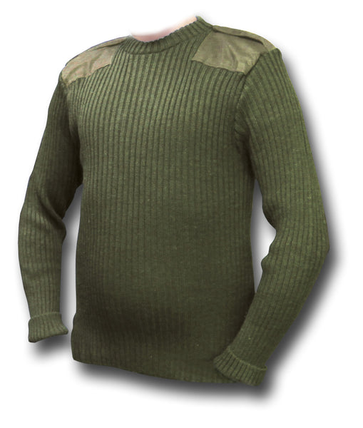 ARMY WOOLLY PULLY - Silvermans  - 4