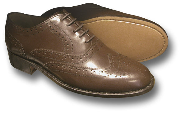 CWCW BROGUE SHOES - BROWN