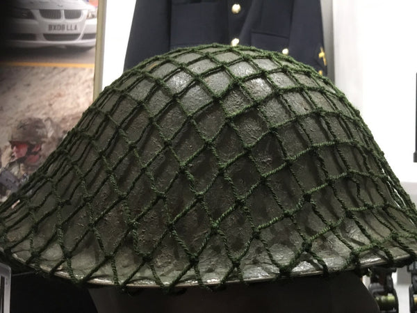 GREEN OLD PATTERN HELMET NET - Silvermans
