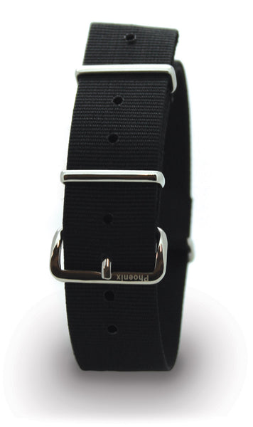 PHOENIX NATO ISSUE WATCH STRAP - BLACK