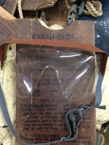 ANTI GAS EYESHIELD GOGGLES 2PK - Silvermans  - 3