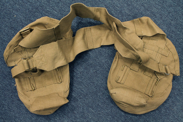 WWII PAIR OF LEWIS GUN POUCHES - BACK