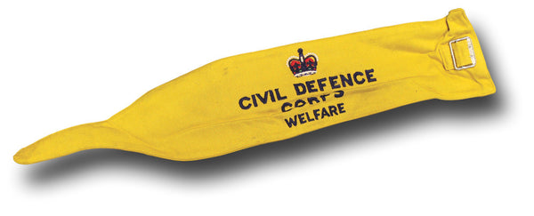 CIVIL DEFENCE CORPS ARMBAND QC