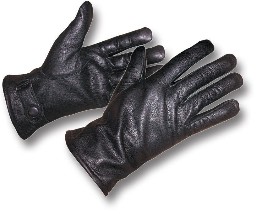 0761f3e3dce72 BLACK GERMAN LEATHER GLOVES | Silvermans