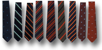REGIMENTAL TIE - Silvermans