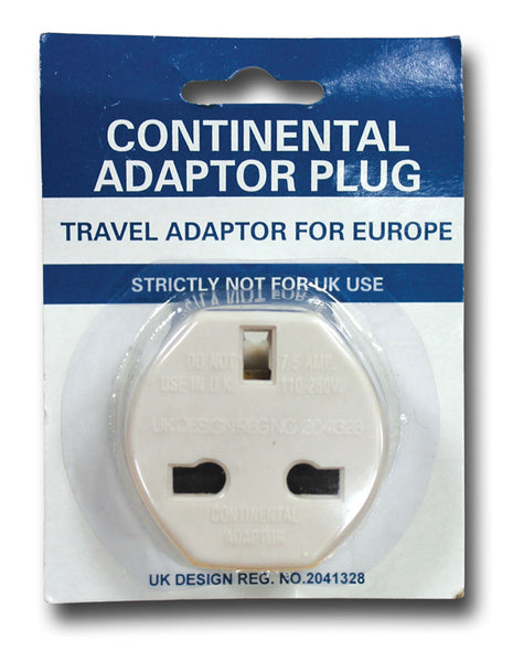 CONTINENTAL PLUG ADAPTER