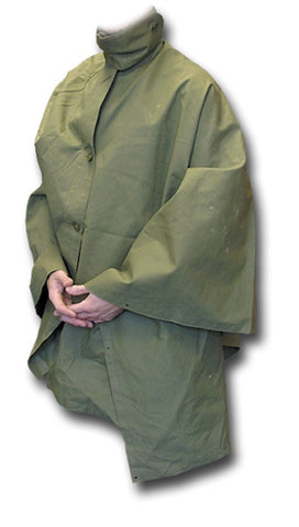 37157 GREEN CAPE HIGHLANDER RIPSTOP HOODED PONCHO