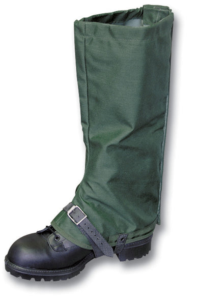 GREEN GORETEX ARMY GAITERS