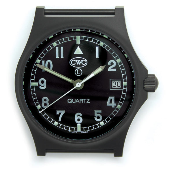 CWC GS SAPPHIRE WATCH BLACK - Silvermans  - 3