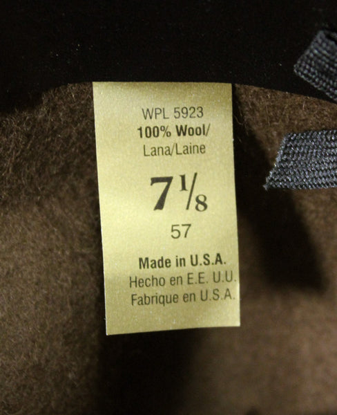 US MARINE DRILL INSTRUCTOR HAT - LABEL