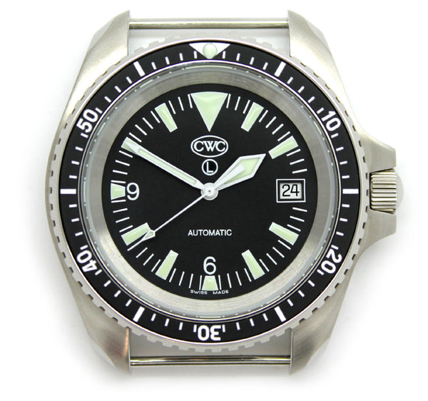 CWC RN AUTO DIVERS WATCH WITH DATE MK.2 - FRONT