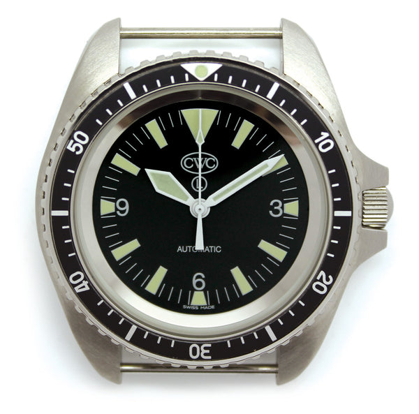 RN AUTO DIVERS WATCH NO DATE - Silvermans  - 2