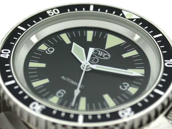 RN AUTO DIVERS WATCH NO DATE - Silvermans  - 4