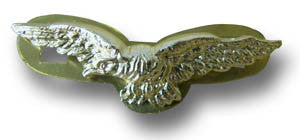 RAF METAL EAGLES BADGE - Silvermans  - 2