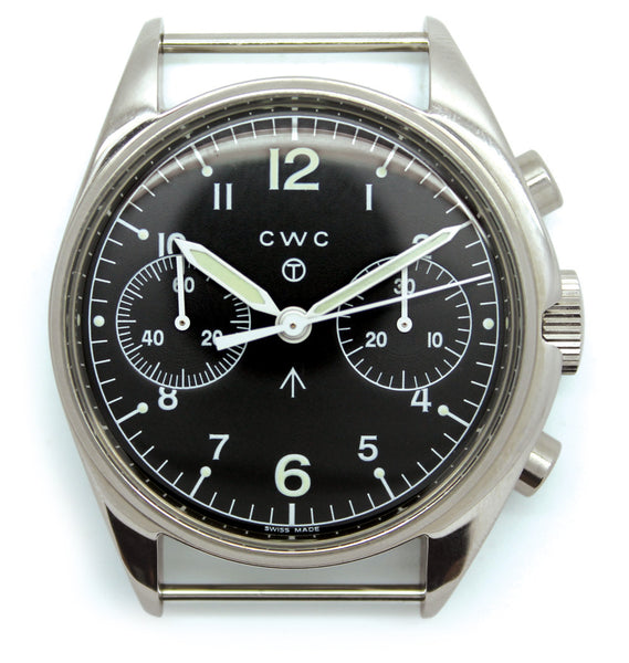 CWC 1970s REISSUE CHRONOGRAPH - Silvermans  - 2