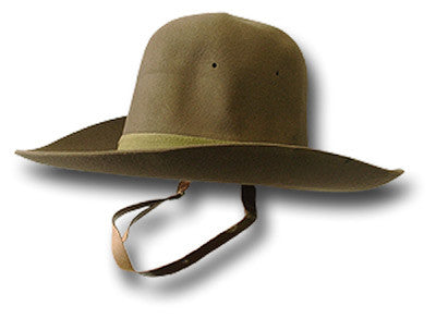 GENUINE 50s GURKHA SLOUCH HAT - Silvermans