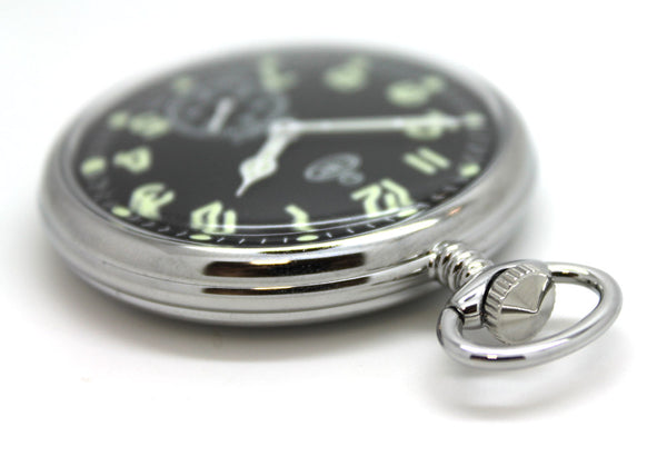 CWC MECHANICAL POCKET WATCH - Silvermans  - 3