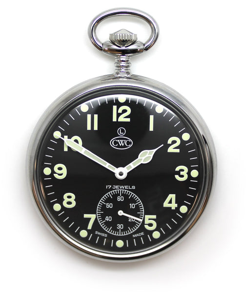 CWC MECHANICAL POCKET WATCH - Silvermans  - 1