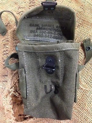 M16 CANVAS USA  AMMO CASE NEW - Silvermans
