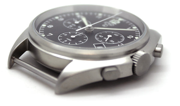 CWC QUARTZ CHRONOGRAPH WATCH - SIDE